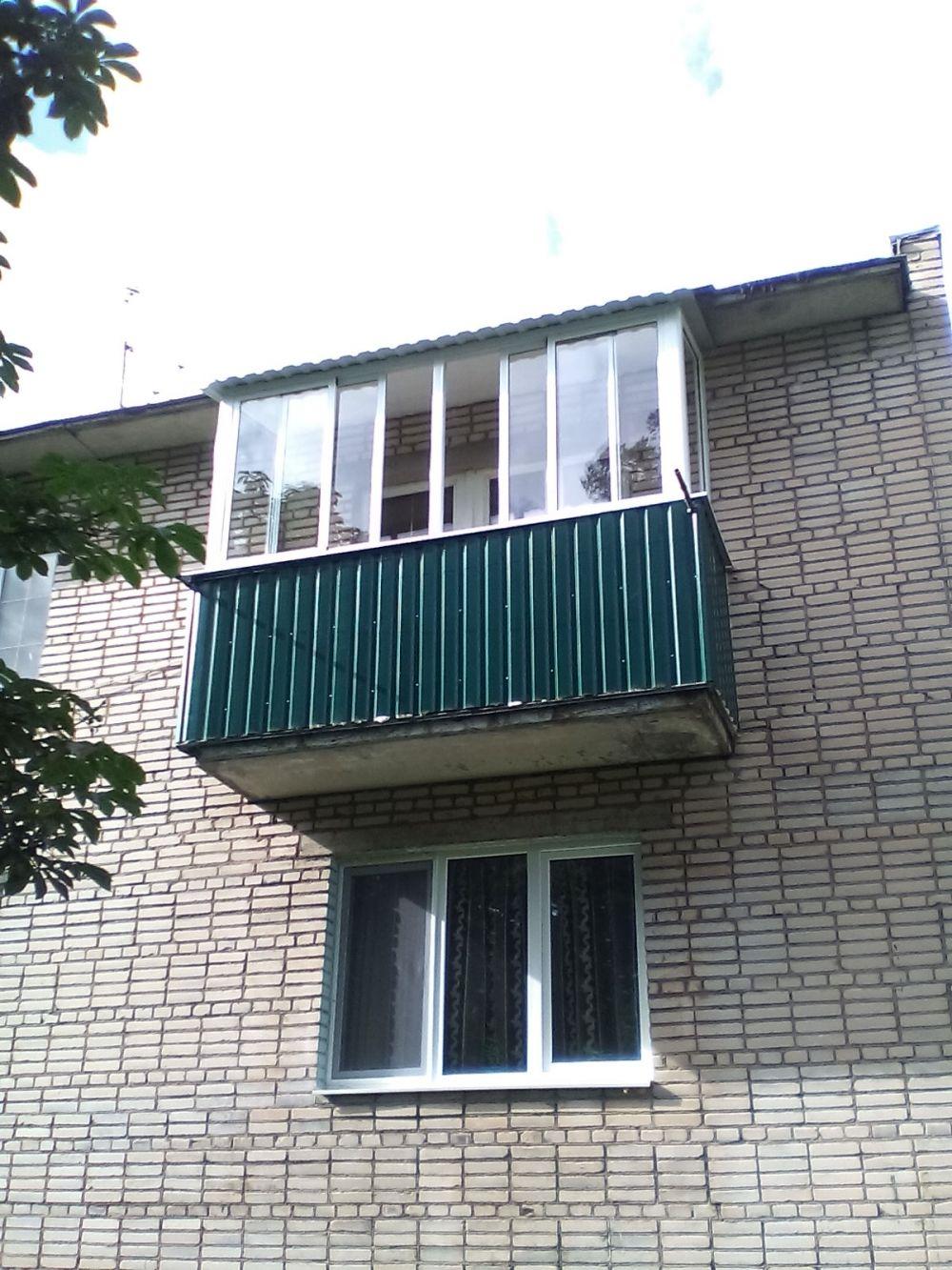Балконные окна, окна в архангельске.